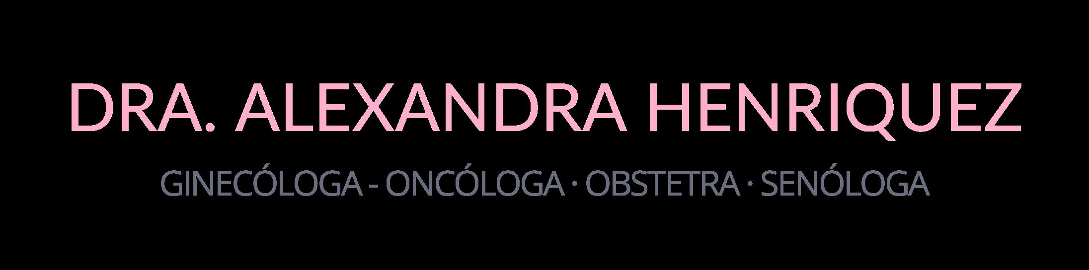 Dra. Alexandra Henriquez